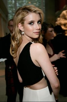 Emma Roberts at the MET Ball