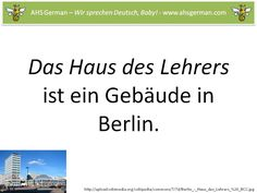 a quick preview of the genitive case for Aiken High School German 2 students