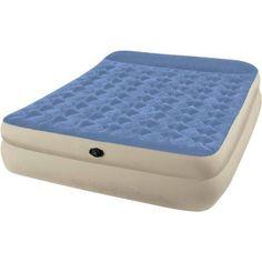 """Intex Queen 18"""" Raised Pillow Rest Airbed Mattress"""