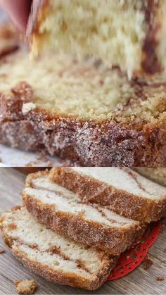 Easy Bread Recipes, Quick Bread, Cinnamon Amish Bread, Amish Friendship Bread, Bread Board, Bread N Butter, Breads, Muffins, Deserts