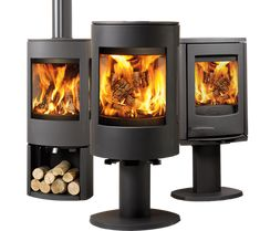 Danish Wood Stoves About Morso Wood Burning Stoves, Wood Stove With Glass Door Gallery Doors Design Ideas, Westfire Danish Made Quality Wood Burning Stoves From Stove Lounge, Log Burner Fireplace, Hanging Fireplace, Small Fireplace, Wood Burner, Wood Burning Logs, Modern Wood Burning Stoves, Log Burning Stoves, Scandinavian Cabin, Steel Barns