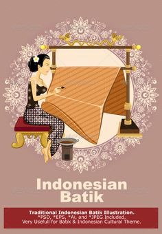 I liked the Classic/elegant image of this woman in a relaxed pose artistically creating the Balinese Batik fabric (one recommended as a print for me by JK.) Traditional Indonesian Batik #GraphicRiver Beautiful Javanese Indonesian Woman, Performing Traditional Art And Craft Of Batik Painting Technique Called Manual Wax-Resist Dyeing
