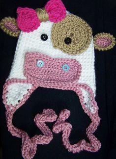 Free Crochet Hat Patterns Cow  48981d77dcd
