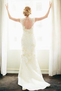 A BHLDN beauty. Photography by stefanochoi.com, Wedding Dress by bhldn.com/