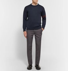From casual chinos to formal trousers, MR PORTER stocks menswear from over 400 luxury designers, giving you so many choices when shopping online for trousers. Winter Outfits Men, Trouser Pants, Work Fashion, Wool Sweaters, Prada, Normcore, Menswear, Casual, Shopping