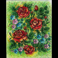 Finished page from 'Blomstermandala' #blomstermandala #blomstermandalamålarbok #mariatrolle #instacoloring #coloring_masterpieces #coloring_secrets #adultcoloring #adultcolouring #colouringforadults #coloringforadults #coloringbook #coloredpencil #pencil #funart #beautifulcoloring #sztukakolorowania #kolorowankidladorosłych #relax #fangcolourfulworld #kolorowamafia #coloringisfun #coloring #arte_e_colorir #divasdasartes #boracolorirtop #artecomoterapia #rainbowdoodlers
