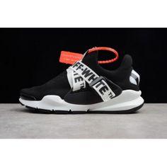big sale 4a64a fe7a7 Virgil Abloh OFF-WHITE x Nike Sock Dart Black White White Sneakers, Women s  Sneakers