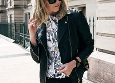 'Street Cred' personal style post by Amanda Shadforth on www.oraclefox.com #McQ #leather #jacket #manga #personalstyle #oraclefox