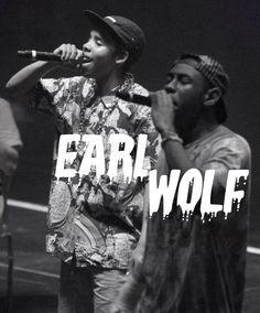 Tyler The Creator, Earl Sweatshirt - Earl Wolf