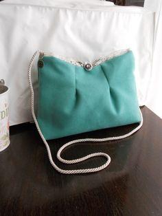 Borsa Colazione da Tiffany, verde acqua, BirBetty