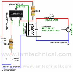 PNP Transistor 12A02CH-TL-E Switching Reed Relay EDR201A05 | IamTechnical.com