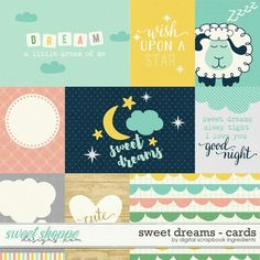 Sweet Shoppe Designs is a full service digital scrapbooking site which offers high quality digital scrapbook products from the industry's top designers. Scrapbook Images, Scrapbook Quotes, Dream Journal, Baby Journal, Dream Night, Agenda Planner, Project Life Cards, Journal Cards, Sweet Dreams