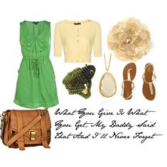 fave shade of green..love the whole outfit