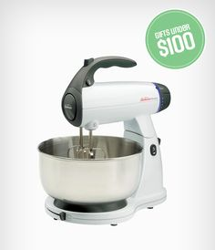 For the next Masterchef: aspiring chefs will love the SUNBEAM Classic MixMaster Stand Mixer for Christmas.