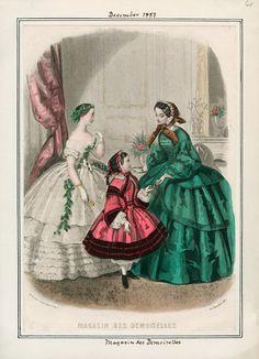 Magasin des Demoiselles, December 1857.