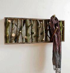 Great idea for a coat rack