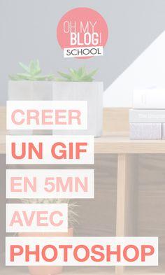 C'est le mois spécial Photoshop sur Blogschool.fr ! Je te montre comment créer un GIF en 5 mn top chrono avec Photoshop ! Pour devenir une ninja du gif et créer plein d'images animées, inscris-toi vite : http://www.blogschool.fr