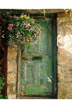 Cornish Door - See the most beautiful doors from all around the world courtesy of Door J'adore pics from their regular Instagram takeovers on the House & Garden account.
