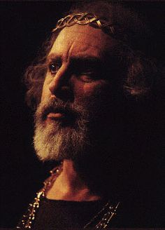 Michael D Jacobs as King Lear, in a Carmel Shake-speare Festival production at the Forest Theater, Carmel, Ca, 1999.  credit Pacific Repertory Theatre