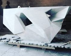#nextarch by @diusalien #next_top_architects Another #fbf console out of solid white marble with #williamemmerson 20011ish @domaen #architectureporn #nexttoparchitects #architecture #domaen