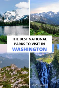 Trying to decide on which Washington national park to visit? This guide breaks down all the national parks in Washington.