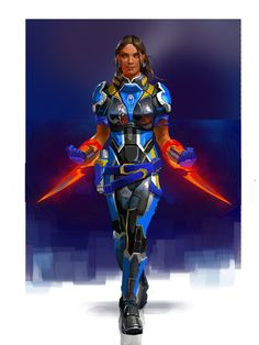 Isabela - Mass Age by AndrewRyanArt on deviantART //Crossover między Dragon Age 2 a Mass Effect :D
