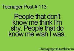 Yup it's sad that this is sooooo true