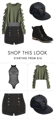Day Time Edge by caitcmulti on Polyvore featuring Pierre Balmain, Boohoo and Diba
