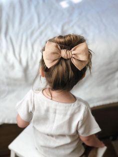 The Jane Bow // collection d'automne // gruau d'avoine #cutekidshairstyles