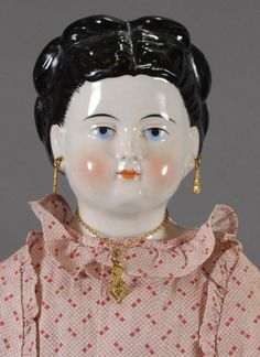 German China Doll with Wardrobe of Clothing from carmeldollshop on Ruby Lane