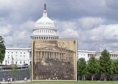 Historic places then and now