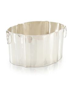 Silver Shapely Ice Bucket