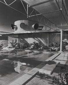 Frey House, 1953 Palm Springs, CA / Clark & Frey, architects © Julius Schulman