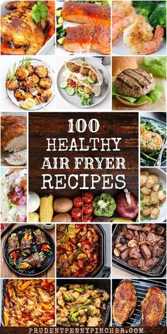 Eat better with these healthy air fryer recipes. From healthy dinners to healthy side dishes, there are plenty of flavorful yet healthy recipes to choose from such as roasted chicken, crispy vegetables, baked salmon and much more. #healthy #healthyrecipes #healthydinner #dinner #airfryer #healthyeating #recipes Healthy Meal Prep, Healthy Dinner Recipes, Healthy Snacks, Breakfast Recipes, Healthy Dinners, Easy Recipes, Breakfast Healthy, Keto Meal, Eat Healthy