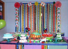 festa infantil colorida - Pesquisa Google