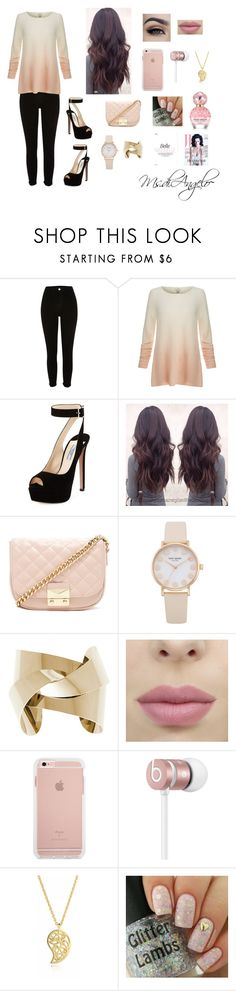 """""""#pinkdream💗"""" by stitchgirlfriend ❤ liked on Polyvore featuring River Island, Joie, Prada, Forever 21, Beats by Dr. Dre, Sonal Bhaskaran and Marc Jacobs"""