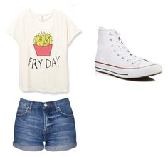 """""""Outfit"""" by danielle09-1 on Polyvore featuring Topshop and Converse"""