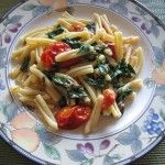 """Fresh Roma Tomatoes and Spinach Langostino  Pasta…With Olive Oil and White Wine.  I got a """"Fabulous"""" on this one!  Broccoli in place of the spinach.  Quick and easy."""
