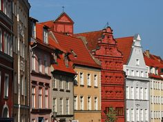 Fährstrasse Stralsund Altstadt Vorpommern  Germany