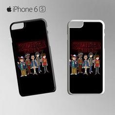 Stranger Things Fun Art for Iphone 4/4S Iphone 5/5S/5C/6/6S/6S Plus/6 Plus/7/7 Plus Phone case
