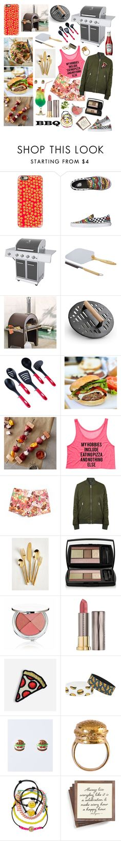 """BBQ  02"" by stellastar22 ❤ liked on Polyvore featuring interior, interiors, interior design, home, home decor, interior decorating, Casetify, Vans, Dyna-Glo and Improvements"