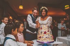 A Fun and Quirky, Bright and Colourful London Pub Wedding | Love My Dress® UK Wedding Blog