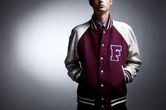 Fred Perry x Raf Simons 2013 Fall/Winter Varsity Jacket
