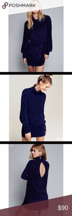 ❤️Free People Chenille Tunic❤️ New with tags. Size large. 79% Rayon, 20% Nylon. Free People Tops Tunics