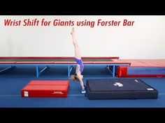 Wrist Shifts for Giants using Forster Bar The Forster Bar is a fantastic tool for training the shift and drop of a giant without being on the bar. Gymnastics Lessons, Gymnastics Coaching, Gymnastics Training, Gymnastics Bars, Drills, Training Tips, Sports, Youtube, Meet