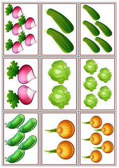 Láminas para imprimir y plastificar. Mírame y aprenderás en Facebook Kindergarten Activities, Educational Activities, Activities For Kids, Crafts For Kids, Fruit And Veg, Fruits And Vegetables, Vegetable Crafts, Preschool Garden, Baby Fruit