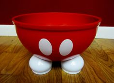 My Mickey Mouse Bowl...love it!