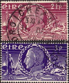 Postage Stamps of Eire Ireland 1948 Insurrection SG 144 Fine Used Scott 135 Stamps For Sale Take a Look