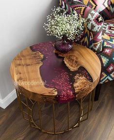 Gedanken zu diesem Beistelltisch des talentierten Ich denke, sie n… Thoughts on this side table of the talented I think she's nailing … – ص 1 – Epoxy Resin Table, Epoxy Resin Art, Diy Resin Art, Diy Resin Crafts, Wood Crafts, Diy Resin Table, Wood Table Design, Wood Furniture, Diy Resin Furniture