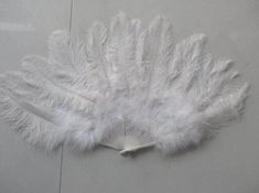 45*90cm White Large Feather Fan Burlesque Dance feather fan Bridal Bouquet White Large Feathers, Ostrich Feathers, Black Feathers, Feather Cape, Red Feather, Cross Drawing, Coque Feathers, Bridal Headdress, Crown Headband